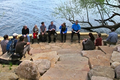The Preserve Committee met on Picnic Point for their May 2012 meeting.