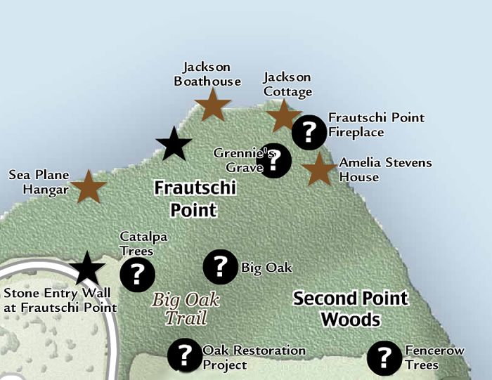 Frautschi Point places